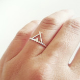 teepee-silver-ring