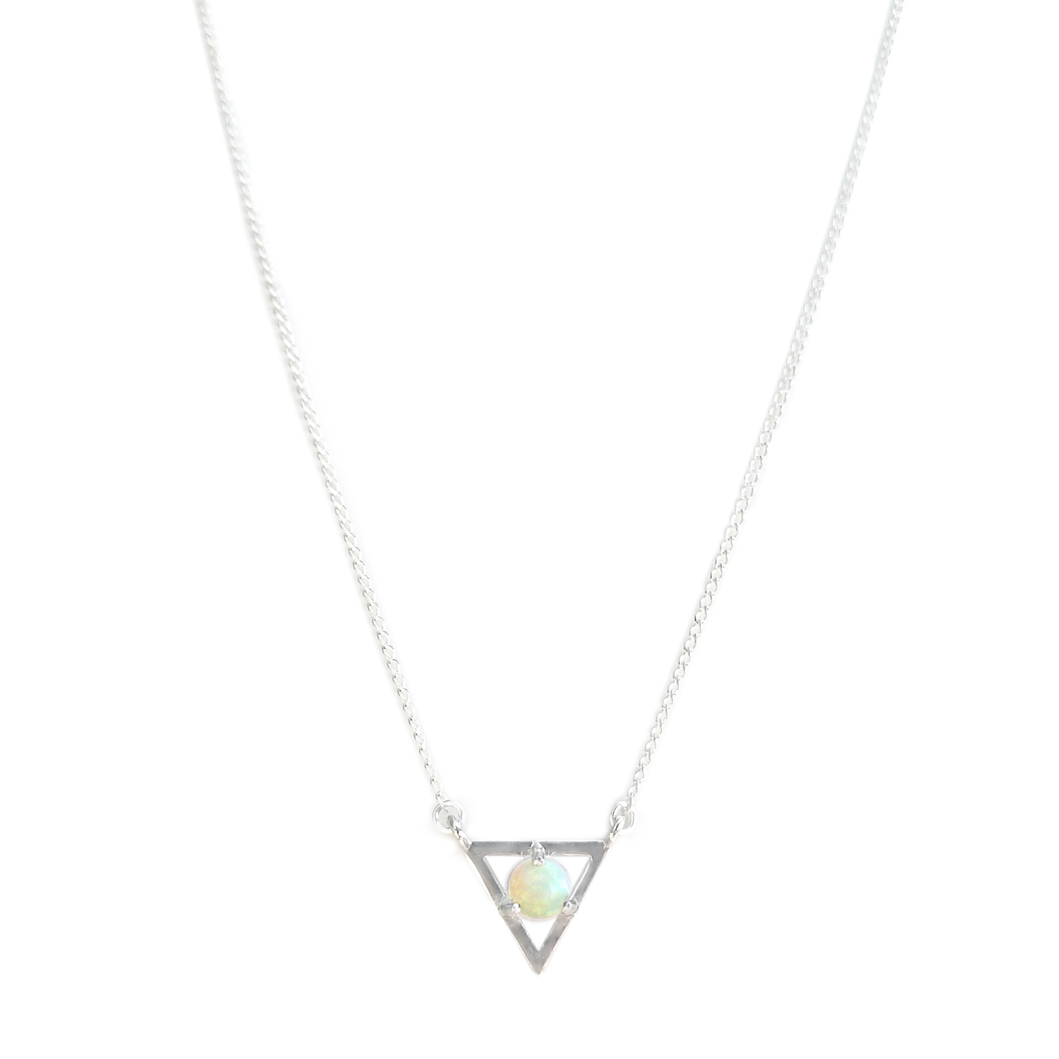 necklace gift simply card silver zoom opal necklaces a sterling birthstone white on october jewellery